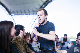 La Dispute at ArcTanGent Festival 2016 // Shot by Graham Berry