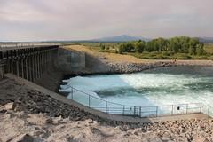 Jackson Lake Dam, Grand Teton National Park, Wyoming, USA (Bencito the Traveller) Tags: jacksonlakedam grandtetonnationalpark wyoming usa