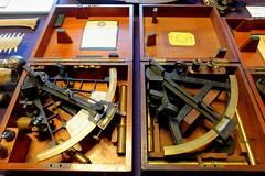 nautical instruments 01 (byronv2) Tags: nautical antique nauticalinstruments navigation naval navy maritime history sextant technology science doorsopenday doorsopenday2016 trinityhouse leith edinburgh edimbourg