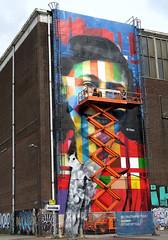 kobra @ work (wojofoto) Tags: kobra action graffiti amsterdam nederland holland netherland wojofoto wolfgangjosten streetart ndsm