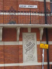Earsby Street W14 (maggie jones.) Tags: london streetname mansions