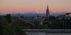 Alpenglow I (glosoliCH) Tags: ifttt 500px switzerland mountais alps bern berne alpenglow evening sunset dusk snow church schweiz outdoors backcountry alpen berge alpenglhen abend dmmerung rot orange red