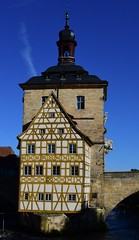 (:Linda:) Tags: germany bavaria franconia town bamberg bridge halftimbered