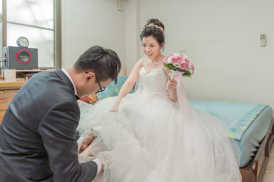 台南婚攝 情定婚宴城堡永康館 婚禮紀錄 C & V 063