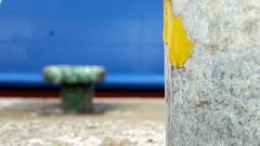 Il giallo contiene sempre in s la natura del chiaro, e possiede una qualit, dolcemente stimolante, di serenit e di gaiezza. (Goethe) (carlini.sonia) Tags: sonia giallo ferro ruggine vecchio porto nave
