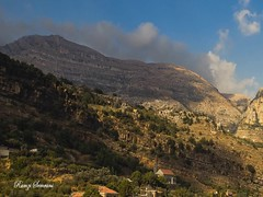 Timelapse - Yanouh Village - Aakoura - Mount Lebanon (ramzisemrani) Tags: lebanon landscape liban lebanonmountain lights landscapes livelovelebanon laqlouq yanouh angel clouds church colors