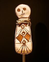 Traditional Aboriginal Bagu Figure (Johanna Barton) Tags: australia bagufigure aboriginalart australiancapitalterritory au canmerra