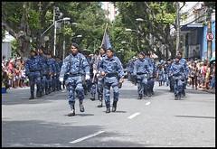 Guarda municipal (wilphid) Tags: salvador bahia brsil brasil 7desetembro ftenationale arme dfil militaires soldats rue