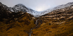 Mount Snowdon, Wales (throzen) Tags: snowdon snowdonia wales uk united kingdom europe 2016 landscape nature outdoor outdoors west south view views sky skies clouds mountain mountains cloud hills winter stream cold snow snowy