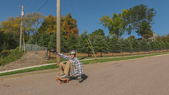 Jacob Croghan fall colors 3 (Codydownhill) Tags: skateboard skateboarding longboard longboarding downhill sports action panasonic lumix style urban