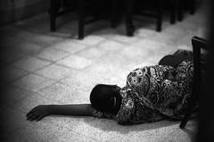 While her boss was away (N A Y E E M) Tags: salma servant maid nanny sleep 1stfloor home night rabiarahmanlane chittagong bangladesh availablelight indoors
