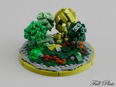 Micro Seasons - Late Summer (Emil Lid) Tags: lego moc micro season tree summer