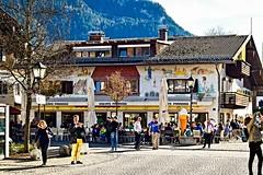 Peaceful street (Dominique.B88) Tags: 1855 bterrace d5300 dslr drinks neuschwanstein nikon outdoor people travel