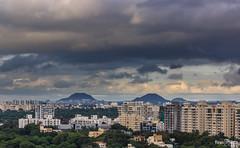 Layered (views@vista) Tags: clouds hdr hills landscape maharashtra monsoon nature outdoor pune rains sky urban