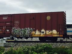 (wrerszytyfg) Tags: fr8heaven graffiti train freights hinge