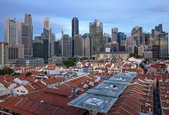 Cityscapes of Singapore - Chinatown (gintks) Tags: gintaygintks gintks singapore singaporetourismboard singapur sg51 chinatown yoursingapore exploresingapore landscapes bluehour centralbusinessdistrict cbd