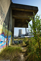 The cooling tower (Red Cathedral is offroad + off-grid in les Pyrn) Tags: sonyalpha a77markii a77 mkii alpha sony sonyslta77ii slt evf translucentmirrortechnology redcathedral graffiti streetart urbanart contemporaryart urbex belgium alittlebitofcommonsenseisagoodthing ruisbroek anderlecht brussels bruxelles tresspassing trespass