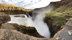Gullfoss (GregKoren) Tags: earth disappear pointofview obliterate crevice deep crash fury iceland hvitariver icelandic goldenfalls gullfoss
