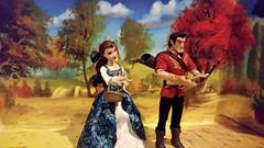 Belle & Gaston (enchanting89) Tags: disney limited dolls fairytale collection belle gaston beauty beast