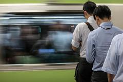 Waiting Line (asvensson) Tags: tokyo tokio jryamanote waiting warten queue yamanoteline