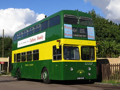 """London Country XF1 Daimler Fleetline CRG6LX (Park Royal bodied) CUV51C - """"Number Ones & Odd Ones"""" (FF3170) Tags: daimler fleetline park royal gardner 6lx daimatic semiautomatic north weald"""