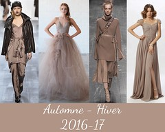 style-warm-taupe-AH-2016-17 (creationsrc) Tags: dfil podium mode fashion femme woman pantone warm taupe chaud automne hiver fall winter 2016 2017 dress jupe pull veste jacket skirt pantalon