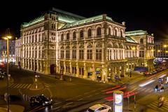Vienna Opera at night (eiljot) Tags: kamera 1650mm lzb nachtaufnahme personen sony michaeldernbach oper alpha6000 wien vienna opera night