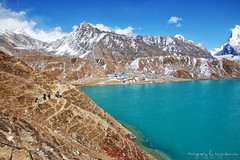 High in the Himalayas (Tony Hodson | www.tonyhodson.com) Tags: everest climbing landscape travel wanderlust blue wow outdoors mountaineering himalayas nepal kathmandu sherpa
