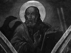 Detail Ceiling (Miranda Ruiter) Tags: blackandwhite church bucarest historic romania iconography religion orthodox painting art
