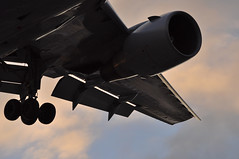 UA0029 EWR-LHR (A380spotter) Tags: approach landing arrival finals shortfinals threshold wing flaps leadingedgeslats prattwhitney pw4060 turbofan powerplant engine undercarriage landinggear maingear belly boeing 767 300er n647ua ship6447 united unitedairlinesinc ual ua ua0029 ewrlhr runway27r 27r london heathrow egll lhr