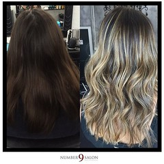 """Three cheers for a stunning fall foilyage and a cut by stylist, Allie! #foilyage #behindthechair • <a style=""""font-size:0.8em;"""" href=""""http://www.flickr.com/photos/41394475@N04/30120477780/"""" target=""""_blank"""">View on Flickr</a>"""