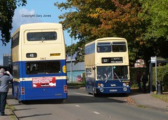 2462 & 6757 (onthebeast) Tags: maypole wythall bus museum 2462 noa 462x fleetline 6757 sda 757s wmpte 30 mcw metrobus