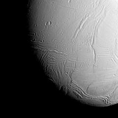 Enceladus (NASA on The Commons) Tags: enceladus saturn cassini probes flyby