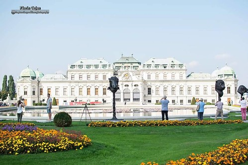 #belvedere #vienna #museum #palace #austria #vienna_city #garden #statue #flowers #people #photographers #architecture #historic #building #baroque #landscape #landscapephotography #attraction #picoftheday #photooftheday #instagood #instapic #instadaily #