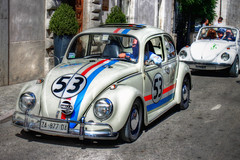 old car in a old town (marcosmallred) Tags: car norcia umbria italia italy italien italie