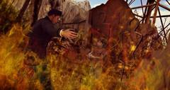 I will save you... (fazdestiny) Tags: fazdestiny secondlife fire saving art imagination digital digitalart