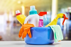 CleaningProducts_thumb (BoKauffmann) Tags: cleaning service house supplies household equipment detergent cleaner bottle hygiene tool work domestic housework chemical plastic color product disinfectant wash container closeup concept clean nobody chore gloves cleanup sanitary russianfederation