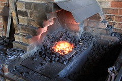 The forge hearth (clintsargent) Tags: forge hearth blacksmith