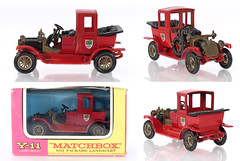 MBY-11-Packard-red-B (adrianz toyz) Tags: matchbox yesteryear diecast toy model car y11 packard landaulet 1912 150 scale