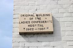 Original Building of the Ladies Confederate Hospital (jschumacher) Tags: virginia petersburg petersburgvirginia sign