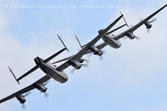 3644 2 Lancaster (photozone72) Tags: lancaster avro 2lancsuk cwhm bbmf rafbbmf portrush airshow warbirds wwii bomber aviation airshows aircraft props canon canon100400mmf4556l 7d