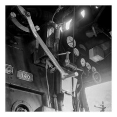 Rotterdam Steam Depot (rjvanderzalm) Tags: caffenol 120 film fomapan 100iso zwartwit blackandwhite analoog analog 6x6