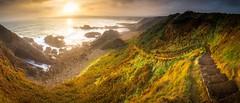 Photographer's Paradise (Augmented Reality Images (Getty Contributor)) Tags: beach canon coastline cullen landscape leefilters longexposure morayshire panorama path rocks scotland sunrise water waves