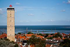 West-Terschelling (EvelyneRenske) Tags: landschap publicatie terschelling brandaris westterschelling netherlands holland nederland waddeneiland waddeneilanden waddenzee houses lighthouse