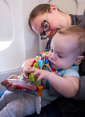 Baby's first flight (andrew_rizzo) Tags: bonnie cameron