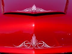1953 Mercury Custom (bballchico) Tags: 1953 mercury convertible carsontop mildcustom gabemontes billetproof billetproofantioch carshow 50s pinstripe