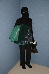 DSC_4355 (Buses,Trains and Fetish) Tags: maid slave girl hijab burka chador warm sweat jacket anorak fleece