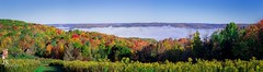From the hawk watch (joshsikora) Tags: catskills catskillmountians thehawkwatch hawkwatch country rollinghills jsphotography changingcolors fog sunrise valley the607 otsegocountyny otsegocounty otsegocountynewyork autumn fall upstatenewyork upstateny upstate panorama