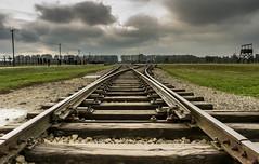 13102016-IMGP6042 (malatesta74) Tags: aushwitz polonia cracovia campodiconcentramento pentax 2040 k5 birkenau binario railway camp oswiecim word emotion holocaust
