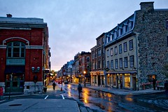 Old Quebec city (John Andersen (JPAndersen images)) Tags: bridge city fall montmorencyfalls old quebec river